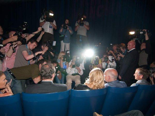 Filmfest-Impressionen, Bavaria-Empfang, Shocking Shorts Party, Laudatoren bei der Venissage des Grauens...