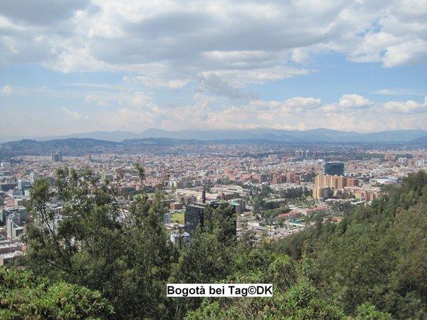 Bogotà, Medellin, Barranquilla