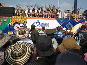 Feiern auf Kolumbianisch