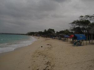 Umweltfreundlich nächtigen am Kolumbianischen Karibikstrand