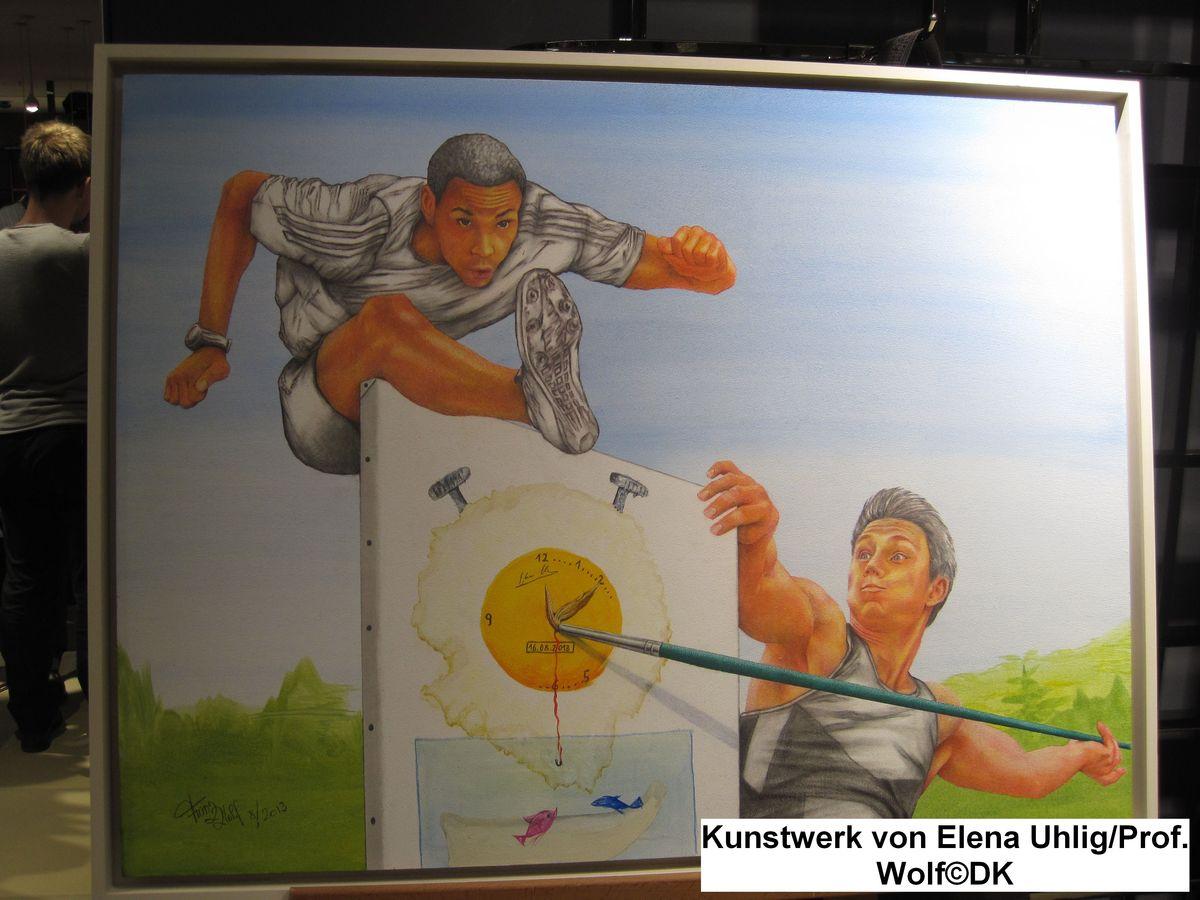 Kreativ & Karitativ der Charity Kunst-Adventskalender