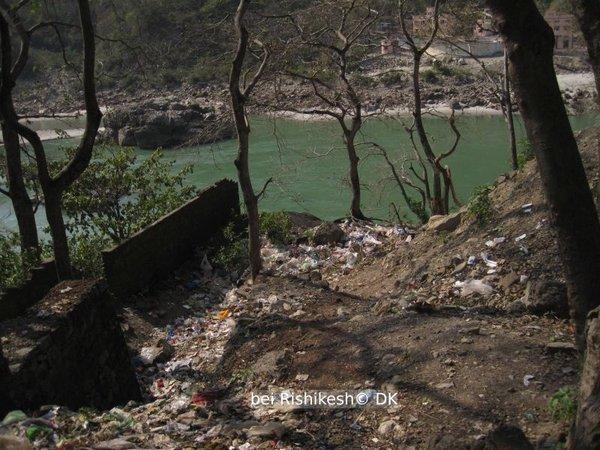 der Ganges bei Rishikesh